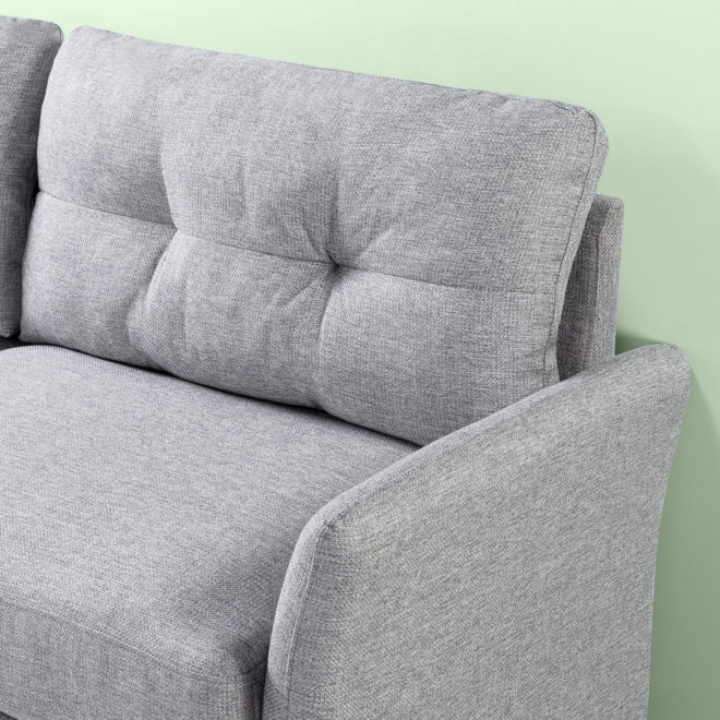 Couch Fabric Detail Rendering