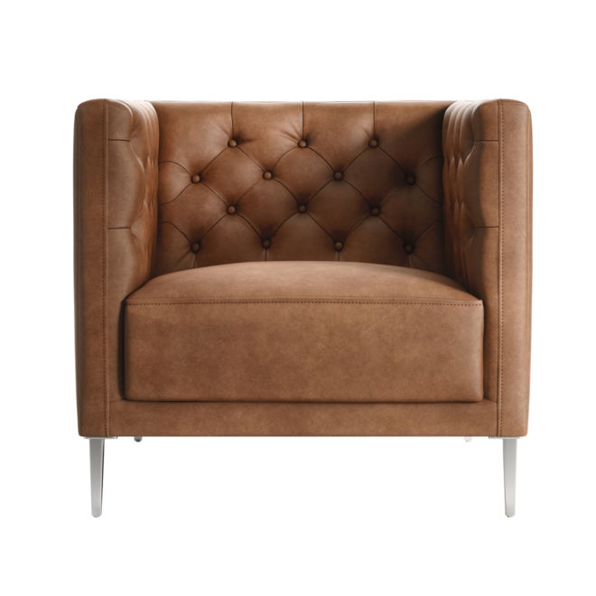 Leather Chair Rendering